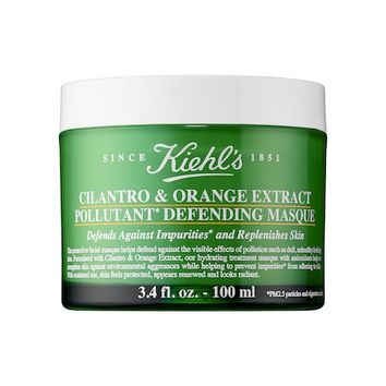 Cilantro & Orange Extract Pollutant Defending Mask - Kiehl's Since 1851 | Sephora