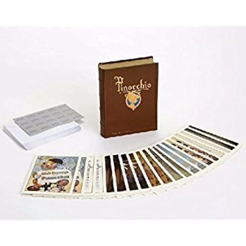 Walt Disney Archives Pinocchio 20 Note Card Set with Keepsake Book 4051314 New