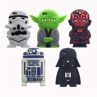 War Stars - 2016 3D Cartoon Cute star wars Extraterrestrial Alien Soft silicone case For iphone5 5s/5c/6 6s/6plus 6splus Free shipping