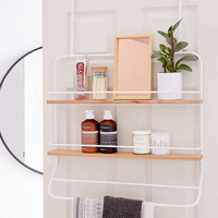 Over-The Door Tiered Shelves Storage Rack | Urban Outfitters
