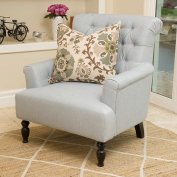 Christopher Knight Home Bernstein Fabric Club Chair | Overstock.com Shopping - The Best Deals on Living Room Chairs