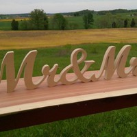 DIY Mr and Mrs Sign, Mr & Mrs, Wedding Sign, Thank You Sign, DIY Wedding Numbers, Absolute Best