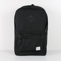 herschel heritage backpack black/black Oak
