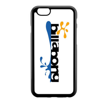 billabong blue yellow wave logo iPhone 6 Case
