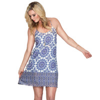 Blue Moon Shift Dress