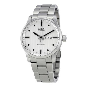 Mido Multifort Automatic Silver Dial Mens Watch M005.430.11.031.80