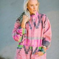 Santa Fe Zip Blanket Jacket