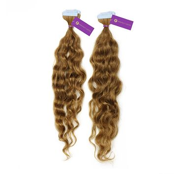 2 x Curly Tape-In Hair Extension Bundle Deal (20 Pieces)