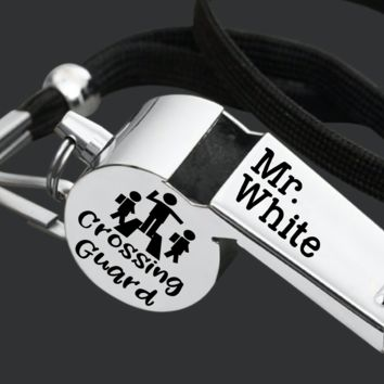 Crossing Guard Whistle | Personalized Whistle