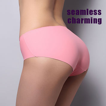Sexy Women Thong cheap sexy  Seamless Underpants padded underwear Lingerie briefs Panties Free shipping 10 colors for choose