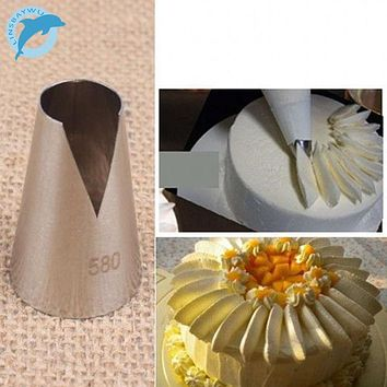 LINSBAYWU Popular 580# Flower Icing Piping Tips Nozzle Cake Cupcake Decorating Pastry Tool