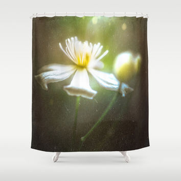 She once cried Shower Curtain by HappyMelvin