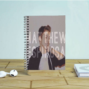 Matthew Espinosa 2 Photo Notebook Auroid
