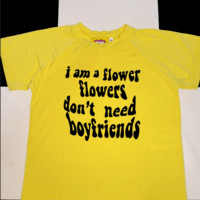 SWEET LORD O'MIGHTY! I DONT NEED BOYFRIENDS CROP TEE