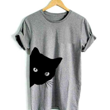 Cat face Women's t-shirt