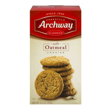 Archway Classic Soft Oatmeal Cookies, 9.5 oz - Walmart.com