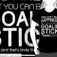 You Can't Buy Happiness, Hockey Goalie by gamefacegear