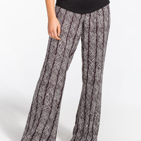 Volcom From The Block Womens Soft Pants Black/White  In Sizes