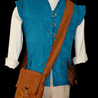 Adult Flynn Rider Vest Costume Custom Made