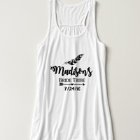 Bridal Party Tank Tops Bride Shirts, Bachelorette Tank Top Shirt, Team Bride, Bridesmaid