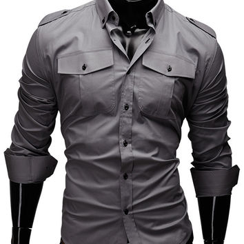 Solid Men Shirt
