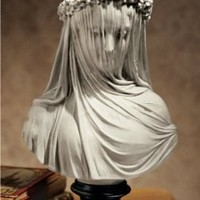 The Veiled Maiden Sculptural Bust