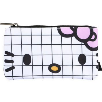 Hello Kitty Pen Pouch: Grid