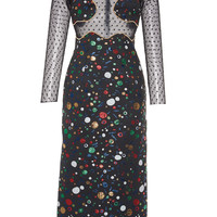 Metis Embroidered Brocade Dress | Moda Operandi