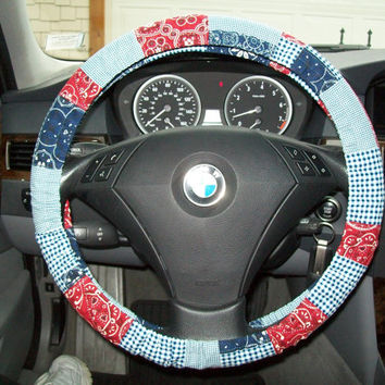 Bandana Steering Wheel Cover