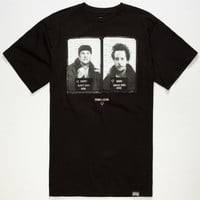 Rook X Home Alone Wet Bandits Mens T-Shirt Black  In Sizes