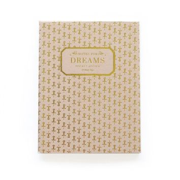 """Notes for Dreams"" Notebook"