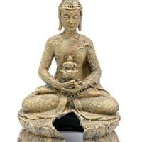 Penn Plax Sitting Buddha Aquarium Ornament