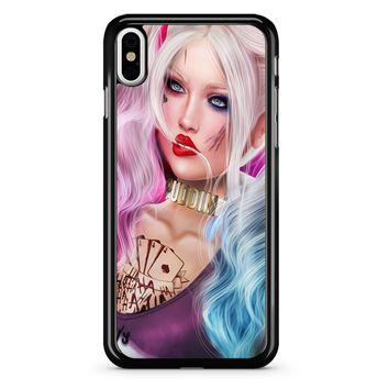 Harley Quinn 1 iPhone X Case