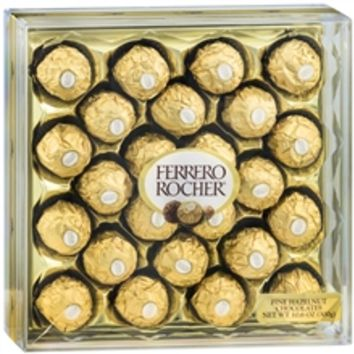 Ferrero Rocher Diamond Gift Box, 24 Piece Hazelnut | Walgreens