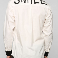 INSTED WE SMILE Smile Button-Down Shirt - Urban Outfitters