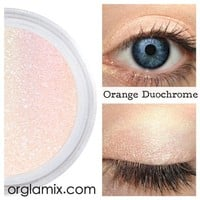 Orange Duochrome Eyeshadow Effects