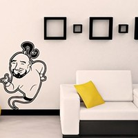 Wall Decals Cartoon Gin Decal Vinyl Sticker Home Decor Bedroom Interior Window Decals Living Room Art Murals Chu1389