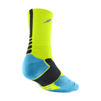 Nike KD Hyper Elite Crew Basketball Socks - Volt