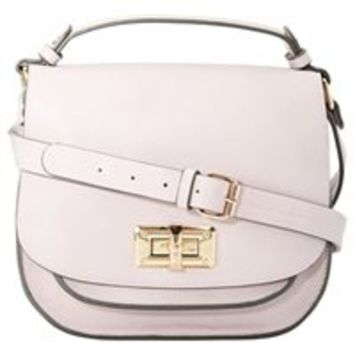 Turnlock Satchel - Lilac by Indigo | Totes Gifts | chapters.indigo.ca