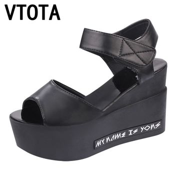 VTOTA Fashion Platform Sandals Women High-Heeled Sandals Wedges Woman Sandals Women Summer Shoes High Heels Shoes X279