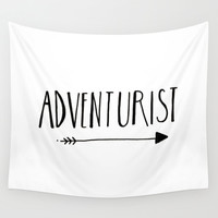 Adventurist Wall Tapestry by BELLES & GHOSTS