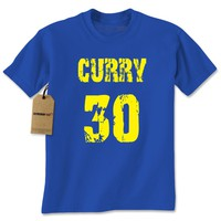 Curry #30 Basketball Mens T-shirt