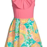 Girl's Lilly Pulitzer 'Little Loranne' Sleeveless Dress