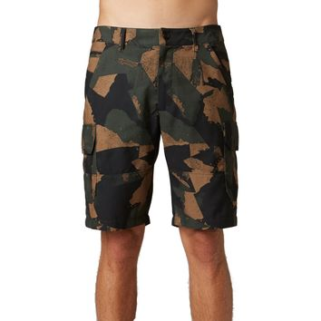 Fox Racing Men's Hydroslambozo Microsuede Camo Cargo Shorts
