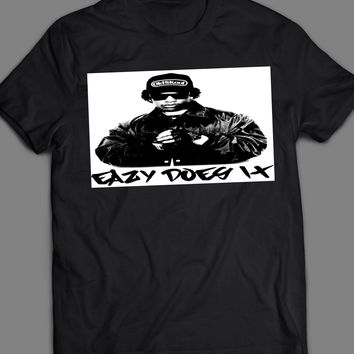 "RAPPER EASY E ""EASY DOES IT"" T-SHIRT"