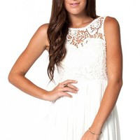 Sweetheart dress in white  | Show Pony Fashion online shopping