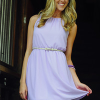 Chic And Classy Dress: Pale Purple   Hope's