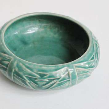 Turquoise McCoy Bowl or Planter