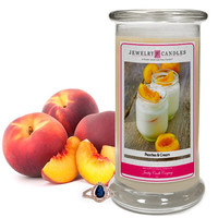 Peaches & Cream Jewelry Candle
