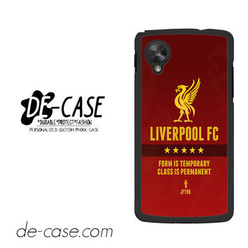 Liverpool Fc For Google Nexus 5 Case Phone Case Gift Present YO